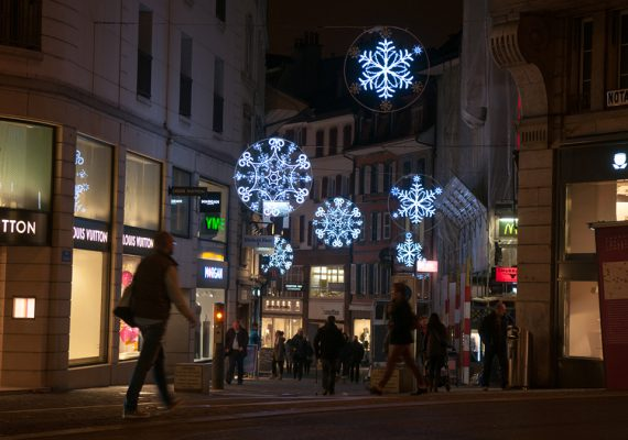 LAUSANNE CHRISTMAS ILLUMINATION